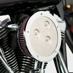 Arlen Ness Derby Sucker Air Cleaner Kit / Intake System Black Vzduchové Sání Harley Davidson Sportster XL 883 / 1200 1988-2012 18-376  00-12 Twin Cam (exc. 99-01 FI FLT & 08-12 FLT Derby Sucker Kit