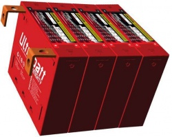 UltraBatt multiMIGHTY Futura-III Moto Baterie 12 V 24 Ah 1,72 KG ! 480A UB-12120MF3 4x 114x120x91 mm Lithium-Ion